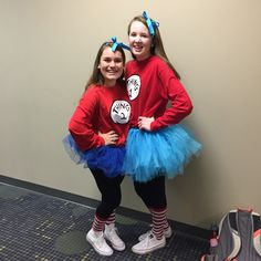 diy thing 1 and thing 2 costumes - Thing 1 Thing 2 Halloween Costume