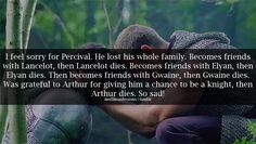 I actually never thought about this.  I was always mad at him for Gwaine dying and not him...now I feel bad :\