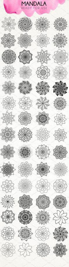 The Universe of Mandala by Daria Bilberry on @creativemarket