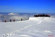 사진속 일상 :: 한라산 만세동산 설경  아름다운 설산에 사람들의 모습도 아름답습니다~ 올해는 꼭 가보리라 마음속 다짐!!!