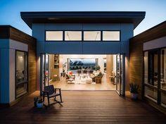 Breezehouse - Breezespace - Nanawall Sliding Glass Door - Open Air Room
