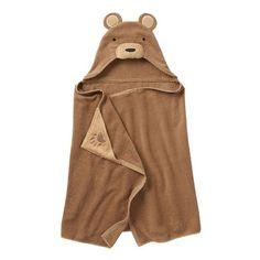 Jumping Beans® Bear Bath Wrap