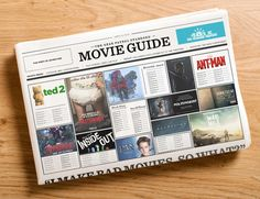 THE REBOOTS, NEW INSTALLMENTS, AND FRESH FACES OF BLOCKBUSTER SEASON-The Complete Guide to 2015's Best Summer Movies SUMMER PREVIEW 2015 By J. TRAVIS SMITH 4.10.15