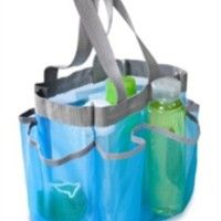 Product Description:Color: blue/greyHoney-Can-Do Quick Dry Shower Tote, Aqua/Silver. Easily organize all of your bath & shower essentials in this stylish shower tote. Featuring seven storage pockets, this tote easily. Shower Shoes, Shower Tub, Aqua, Turquoise, Shower Accessories, Dorm Accessories, Tabletop Accessories, College Gifts, College Dorms