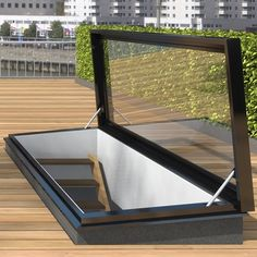 TopLight Roof hatch with glass