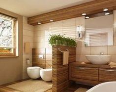 Twoje SPA - wystrój z elementami drewnianymi: http://www.homebook.pl/inspiracje/lazienka