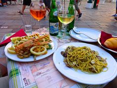 two not so great entrees in Venice Italy http://placesiveeaten.blogspot.it/2014/08/can-you-even-get-bad-meal-in-italy.html