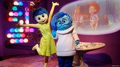 "Beginning April 2016, Epcot Character Spot at the Walt Disney World Resort will provide direct access to Headquarters, where you can meet Joy and Sadness from the Disney•Pixar film ""Inside Out""!  For more on visiting Epcot with kids, see: http://www.buildabettermousetrip.com/epcot-with-young-children"