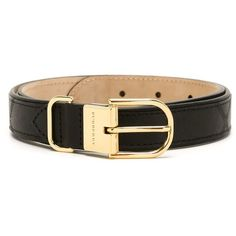 Burberry Leather Classic Belt ($275) ❤ liked on Polyvore featuring accessories, belts, black, burberry belt and burberry