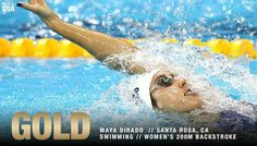 Make that FOUR medals for Maya DiRado at #Rio2016 !!   That AMAZING swim earned her a #Gold medal!