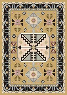 Copper Canyon San Angelo Area Rug Southwestern Area Rugs, Southwestern Decorating, Southwestern Style,