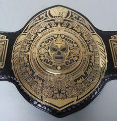 Lucha Underground Championship - LU is really outdoing itself in the quality of its belts. They're all glorious.