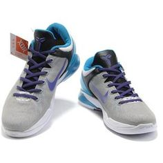 Nike Kobe 8, Nike Kobe Shoes, Kd Shoes, Blue 488244, Purple Grey, Blue White, Cheap Kobe, Cheap Nike, Vii Grey