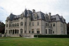 Ochre Court Mansion, which is now the centerpiece of Salve Regina University, in Newport, Rhode Island.