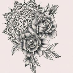 Tattoo Arm Rose Sunflower Ideas for 2019 - # Mandala Tattoo # Tattoos - diy tattoo images - Neue Tattoos, Body Art Tattoos, Sleeve Tattoos, Tattoo Sleeves, Arm Tattoos, Tatoos, Trendy Tattoos, Black Tattoos, Tattoos For Women
