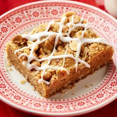 Low Carb Recipes To The Prism Weight Reduction Program Triple Peanut Butter Streusel Bars: Dry-Roasted Peanuts, Peanut Butter-Flavored Pieces And Peanut Butter Bring Triple Flavor To This Make-Ahead Bar Cookie. New Year's Desserts, Christmas Desserts, Christmas Recipes, Christmas Cookies, Holiday Recipes, Holiday Foods, Christmas Candy, Simple Christmas, Christmas Presents