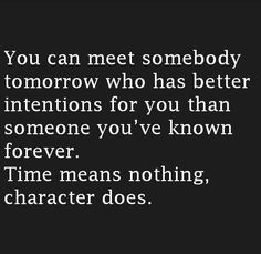 It's all about meeting the right person.