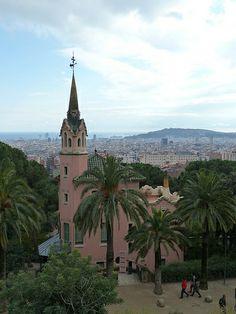 Parc Guell.    Трансфер из Барселоны в Аэропорт  и  Предлагаем услуги экскурсии  трансфер, отдых, #travel