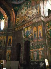 New Aphon monastery. Abkhazia stock photo