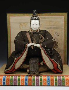 edo hina Japanese Traditional Dolls, Japanese Doll, Traditional Art, Hina Matsuri, Hina Dolls, Asian Doll, Masks Art, Doll Crafts, Japanese Culture