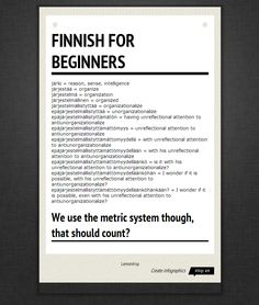 Want to learn some Finnish language?