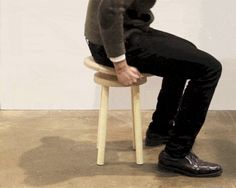 Wobble Stool Challenges Your Balance and Coordination