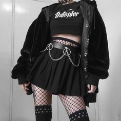 Fashion Guys, Egirl Fashion, Teen Fashion Outfits, Edgy Outfits, Cute Casual Outfits, Retro Outfits, Grunge Outfits, Grunge Fashion, Vintage Outfits