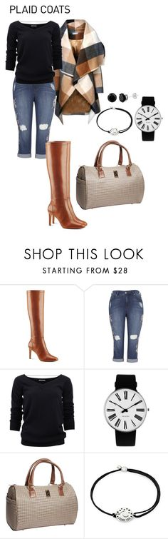 """""""Untitled #1935"""" by nadia-n-pow on Polyvore featuring Nine West, Brunello Cucinelli, Rosendahl, London Fog, Alex and Ani and plaidcoats"""