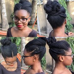 Chinwe from Nigeria // Type 4 Natural Hair Icon - BGLH Marketplace How To Grow Natural Hair, Natural Curls, Natural Hair Care, Natural Hair Styles, Long Hair Styles, Bun Styles, Natural Beauty, Natural Hairstyles For Kids, Pretty Hairstyles