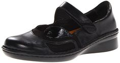 Naot Women's Conga Flat, Black Madras Leather/Black Velvet Nubuck/Black Patent Leather, 38 EU/6.5-7 M US ** Check this awesome product by going to the link at the image.