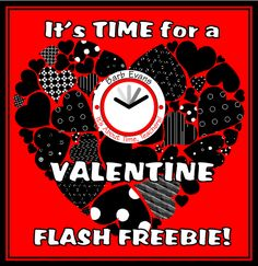 It's About Time, Teachers!: Another Valentine's Day Flash Freebie!