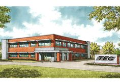 This is what the TEC building will look like when completed by Tillman.