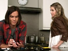 Caleb Rivers and Hanna Marin Pretty Little Liars Season 1 Episode 17 The New Normal