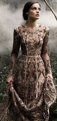 Breathtaking Look of Paolo Sebastian Fall Winter Couture Style Couture, Couture Fashion, Fashion Goth, Dress Fashion, Fashion Outfits, Coco Chanel Moda, Beautiful Gowns, Beautiful Outfits, Bohemian Wedding Dresses