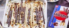 MIKADO TIRAMISU Winter Desserts, Deserts, Food And Drink, Snacks, Vegan, Baking, Tiramisu Recipe, Brot, Appetizers