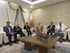 EU delegation lead by our president, Dr Belfer, in Bahrain Our President, Centre, Photo And Video, Self