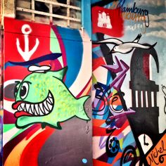 #streetart Tour durch St. Pauli