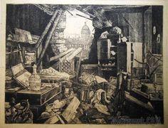 Искусство блокадного Ленинграда. Н. А. Павлов. После обстрела