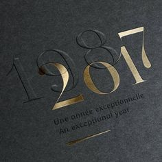 Black and gold embossed invitation design - Einladung Geburtstag - Typography Graphisches Design, Design Logo, Book Design, Graphic Design Typography, Print Design, Branding Design, Luxury Graphic Design, Design Homes, Design Packaging