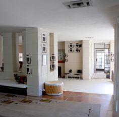 Westhope interior, Tulsa - Frank Lloyd Wright