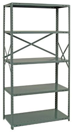 Steel Shelving Unit Open Clip 20 Gauge Ironman 7 Shelves 24 x 48 x 99 GRAY by Quantum. $370.69. . Intermediate clip shelves make for easy bolt-free assemblyand adjustment. Sway braces on side and back provide stability. Shelves are engineered for superior strength and are triple bent on all four sides. Open Shelving Units are ideal for industrial and commercial storage and organization. Easy access to product, high visibility and air flow from all sides. Each starter ...