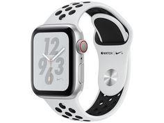 Apple Watch Nike+ Series 4 40mm GPS + Cellular - Wi-Fi Bluetooth Pulseira Esportiva 16GB - Magazine Lojamagalu1000