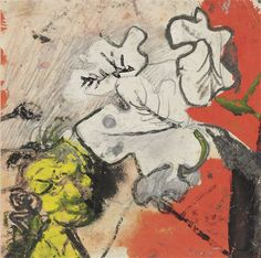 Artwork by Graham Sutherland, Study for 'Leaves, Made of pencil and gouache on paper Coal Mining, Magazine Art, Art Market, Gouache, Graham, Auction, Pencil, Study, Tapestry