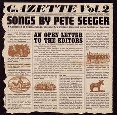 pete seeger gazette vol. 2