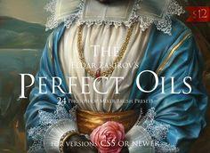 The Perfect Oils, MixerBrush Presets by Eldar Zakirov's on @creativemarket