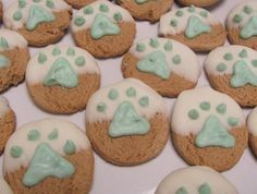 decorated cookies for dogs - Google Search
