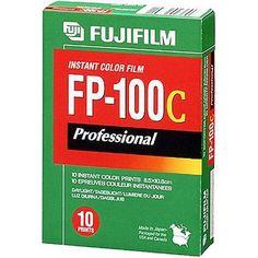 $8.99 Fujifilm FP-100C Professional Instant Color Film ISO 100 (10 Exposure, Glossy)