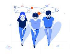 New Idea - illustration by Pawel Olek #Design Popular #Dribbble #shots