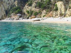 Corfu island, Secret beach