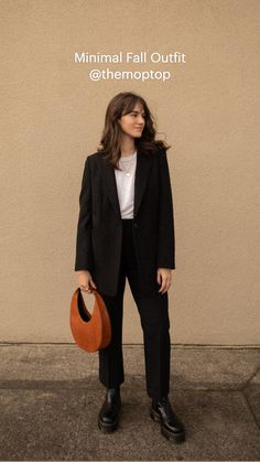 Fall Outfits, Casual Outfits, Cute Outfits, Lazy Fashion, Parisian Chic Style, Professional Outfits, Minimal Fashion, Types Of Fashion Styles, Autumn Winter Fashion
